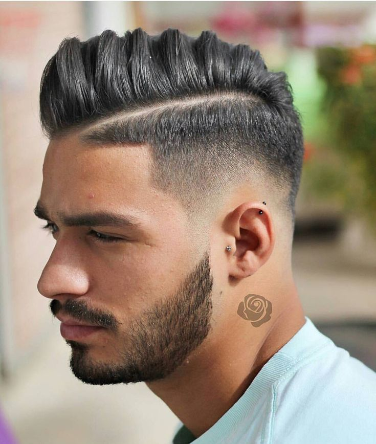 1000 Ideas About Tapered Hairstyles On Pinterest