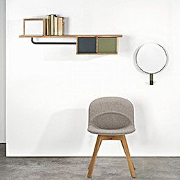 top3 by design - Universo Positivo - hat coat rack grey khaki