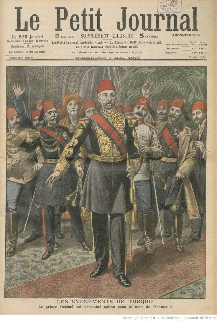 File le petir journal proclamation of mehmed wikipedia - Le perche le journal ...