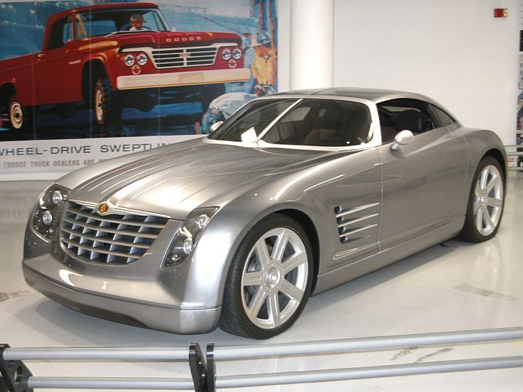 CHRYSLER CROSSFIRE COUPE CONCEPT 2001