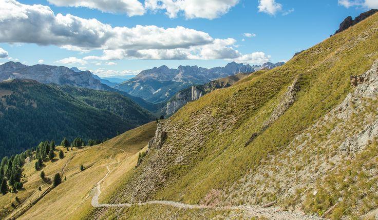 https://flic.kr/p/ySEKcL | Lungo il Sentiero | Verso il Passo San Nicolò, Val di Fassa