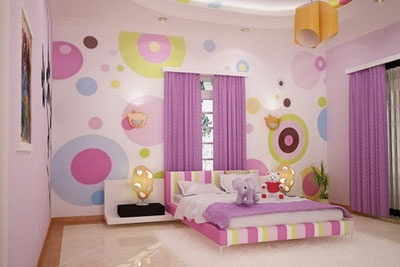Little Girls' Bedroom Decorating Ideas
