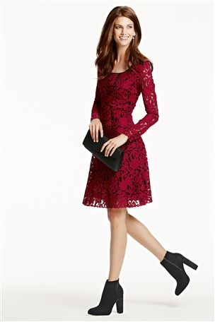 Lace AW13 - Lace Sleeved Dress