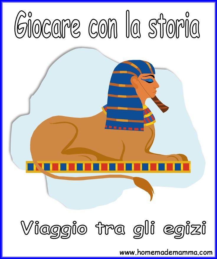 Antico Egitto Libro Da Stampare Scuola Primaria 埃及 Teaching