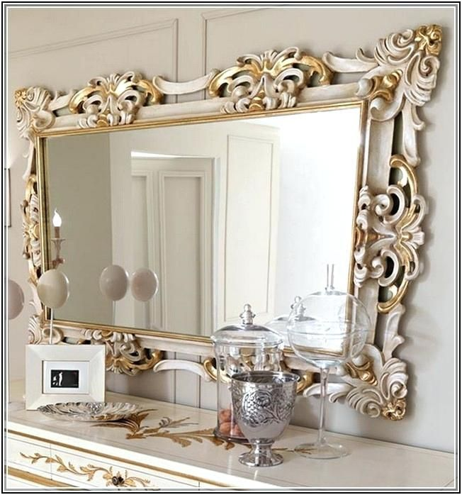 Image Result For Large Painted Mirrors Home Decor Mirror Wall Decor Large Wall Mirror Mirror Wall Bedroom