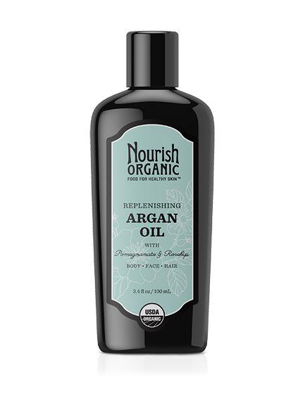 Replenishing Organic Argan Oil