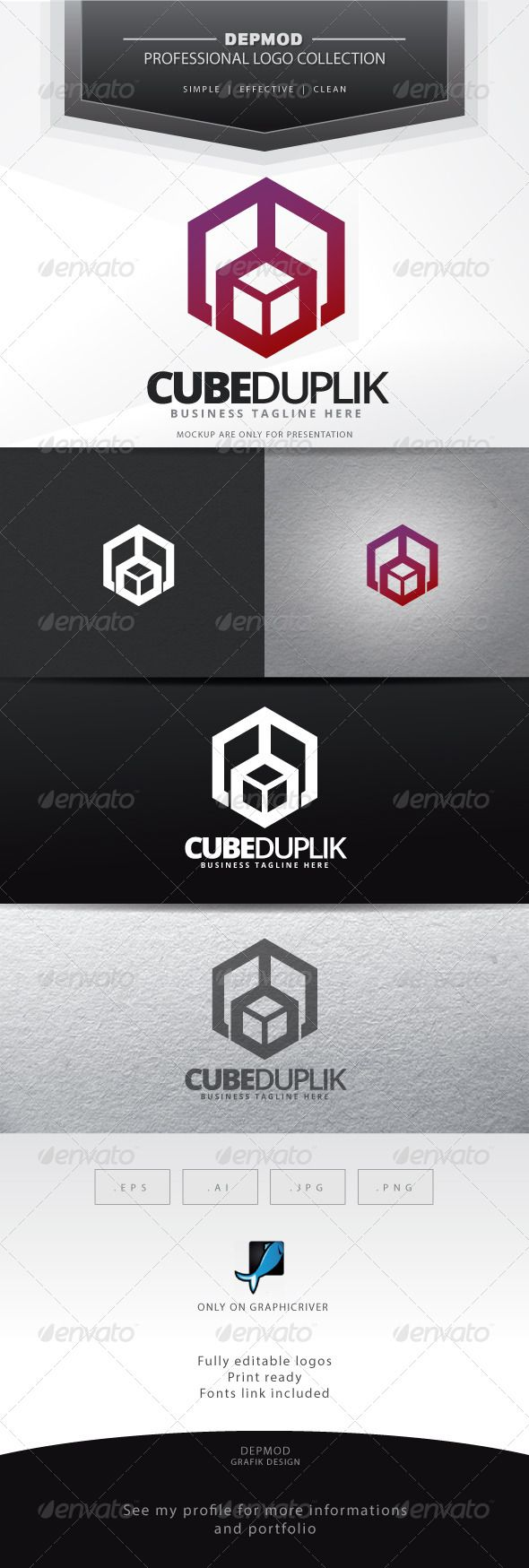 Cube Duplik Logo