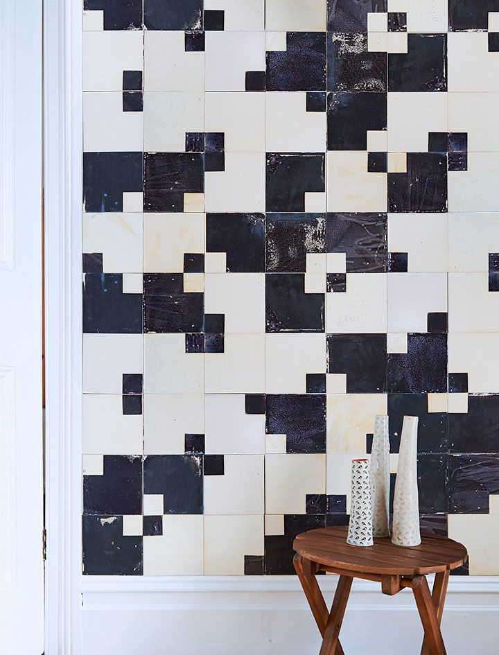 One of the simplest tile designs I can think of is the chequered layout of black and white tiles. From Victorian bathrooms to Art Deco halls to 1980s kitchens, it's been a staple design choice. What inspired Squared was the desire to play with that form while keeping the tile as simple as possible. I eventually achieved this with a combination of subtly distorted pattern and colour. #SminkThings