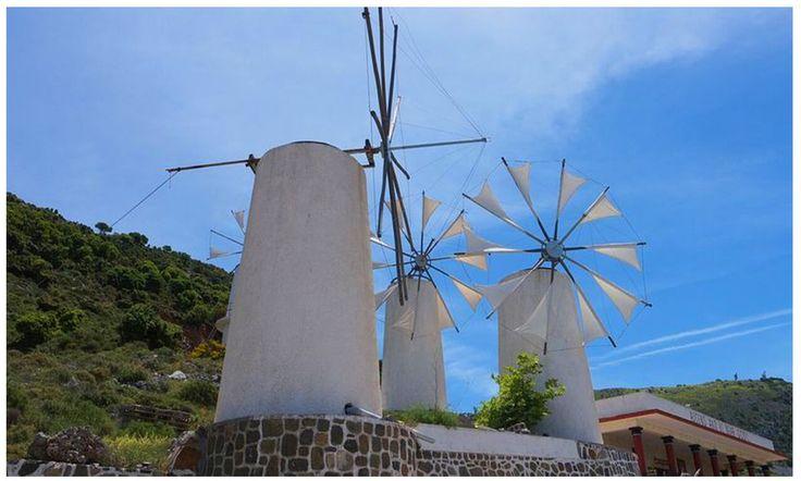 Lasithi Plateau Greece Image