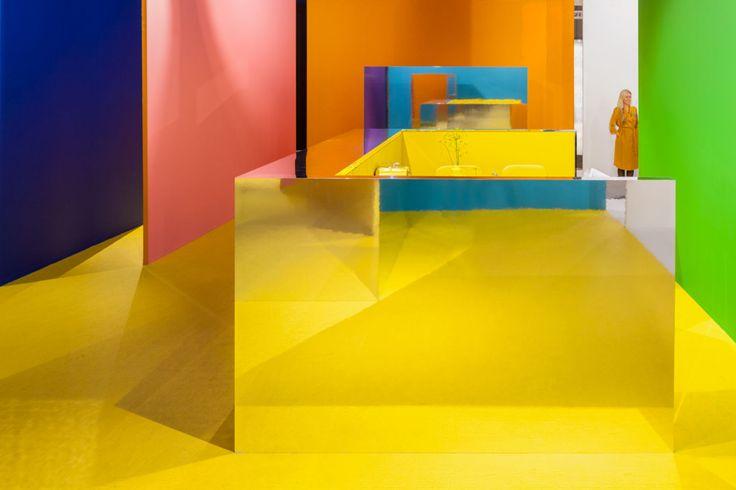 i29 | Interior architects, Dennis Brandsma, Ewout Huibers · EH&I pavilion 2015. Amsterdam, Netherlands · Divisare