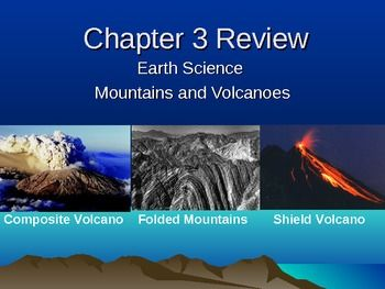 Chapter 3 Earth Science review:A review and game in PowerPoint form that can be used as informal assessment and to review for formal…