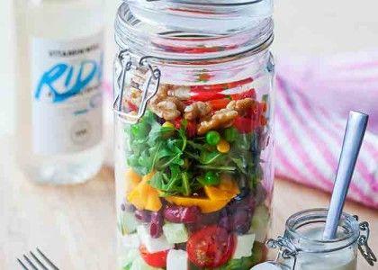 Ost- och kidneybönsallad | MåBra - Nyttiga recept