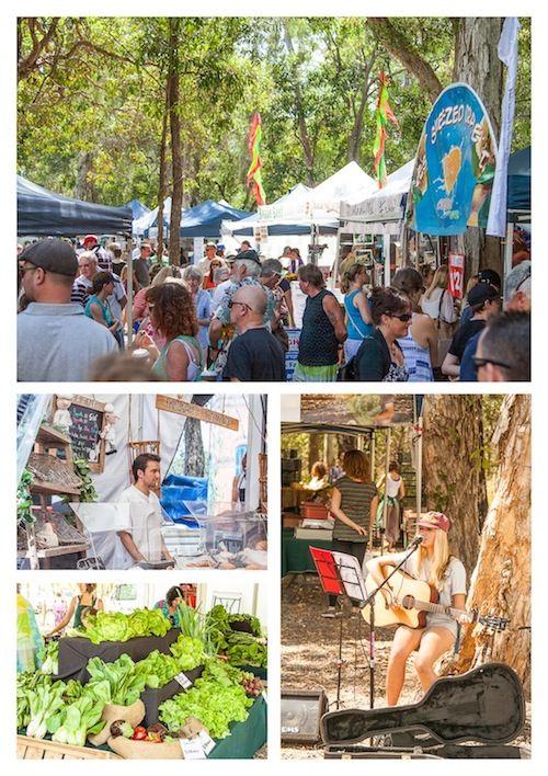 Beautiful Noosa - I'm lucky to call the Sunshine Coast home. Noosa Farmers Markets | via ledelicieux.com
