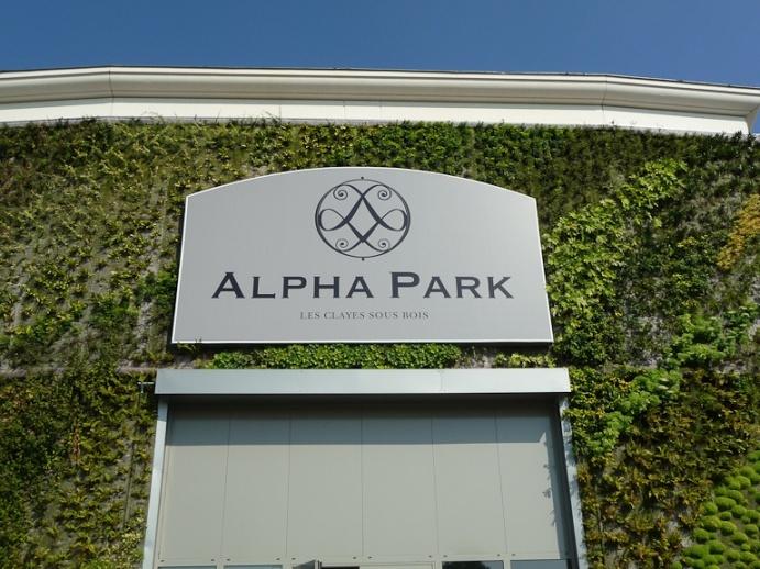 Inauguration du centre commercial Alpha Park II, Les ClayessousBois