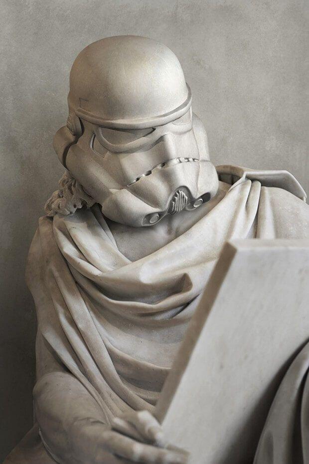 Citaten Uit Star Wars : Die besten stormtrooper kunst ideen auf pinterest