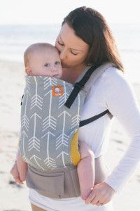 TULA Baby Carrier (~$150): This offers lots of coverage, and unlike others, Tula makes two carrier sizes: one for babies and one for toddlers. Tula carriers are pricey but they're well made. Read more here: http://www.lucieslist.com/baby-registry-basics/best-soft-structured-baby-carriers/#tula