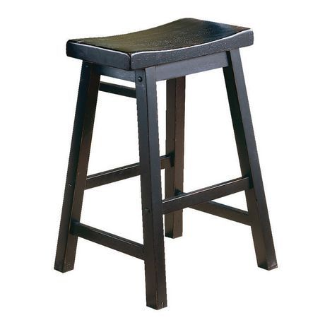24 Quot Saddle Back Stool Walmart Ca Kitchens Tiles