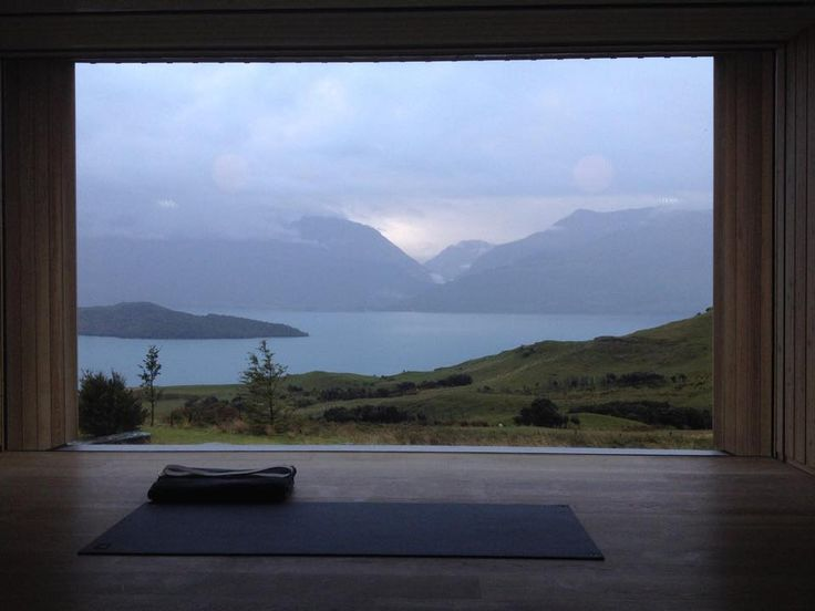 "Day 2 ""It's worth getting up at 6am to teach at Aro-Ha. So beautiful!"" - Rachel Land, Yoga Teacher @ Aro Ha"