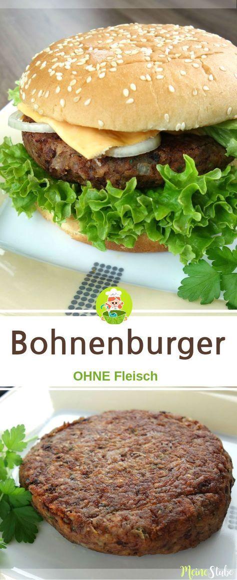 Hamburguesa de frijoles, sin mucho   – Vegetarische gerichte