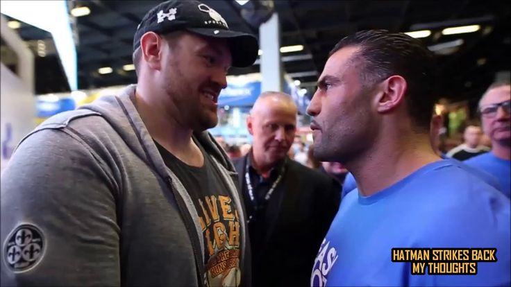 TYSON FURY & MANUEL CHARR NEARLY COME TO BLOWS!!! HEATED EXCHANGE!!!