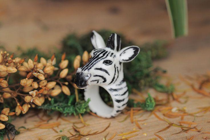 nieuwe 2014 mode dier ringen voor vrouwen vintage sieraden zebra legering dames ringen nooit vervagen(China (Mainland))