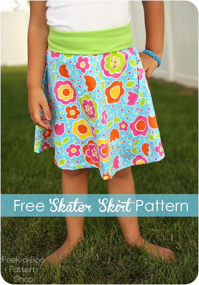 skater skirt freebie