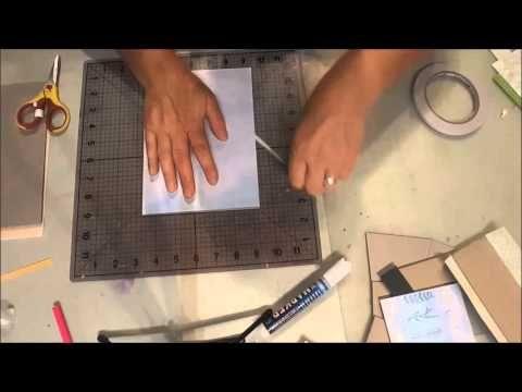 Kaszazz Techniques  Making a Mini Album