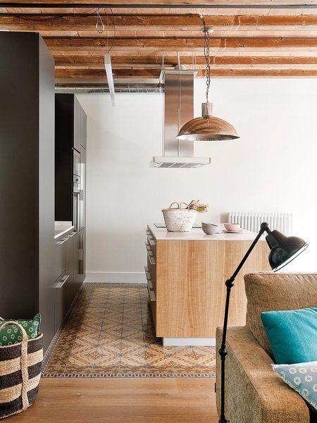 M s de 1000 ideas sobre planos de casas de madera en for Cocinas con parquet