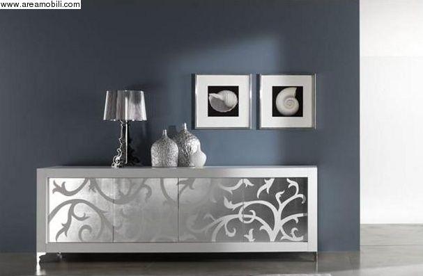 madia intarsio foglia argento Picasso