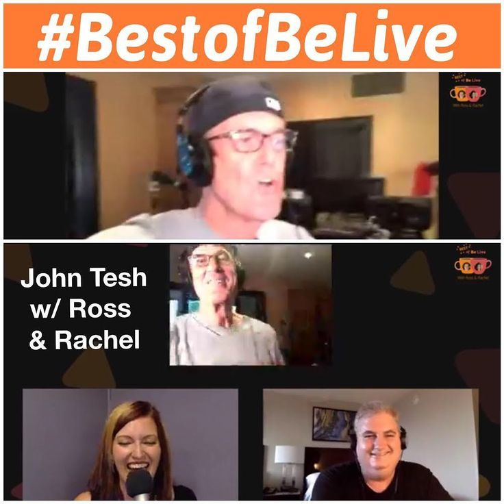 Chatting with JOHN TESH (@johntesh_ifyl), this week's winner on #BestofBeLive with Ross & Rachel (@rachelmoorers). View on @belive.tv FB page: Facebook.com/BeLiveTvApp. (Ross Brand, Rachel Moore, John Tesh, BeLive TV, Best of BeLive)