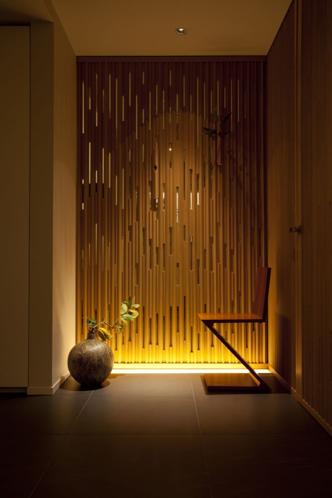 linear lighting lighting design light architecture japanese interior