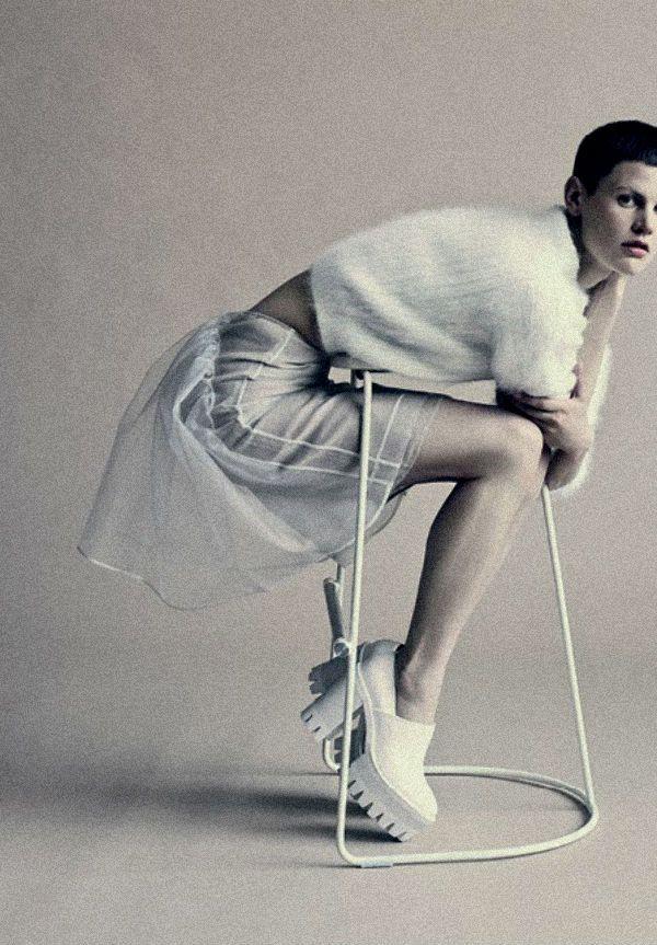 Saskia De Brauw by Paolo Roversi, Wallpaper Magazine September 2013