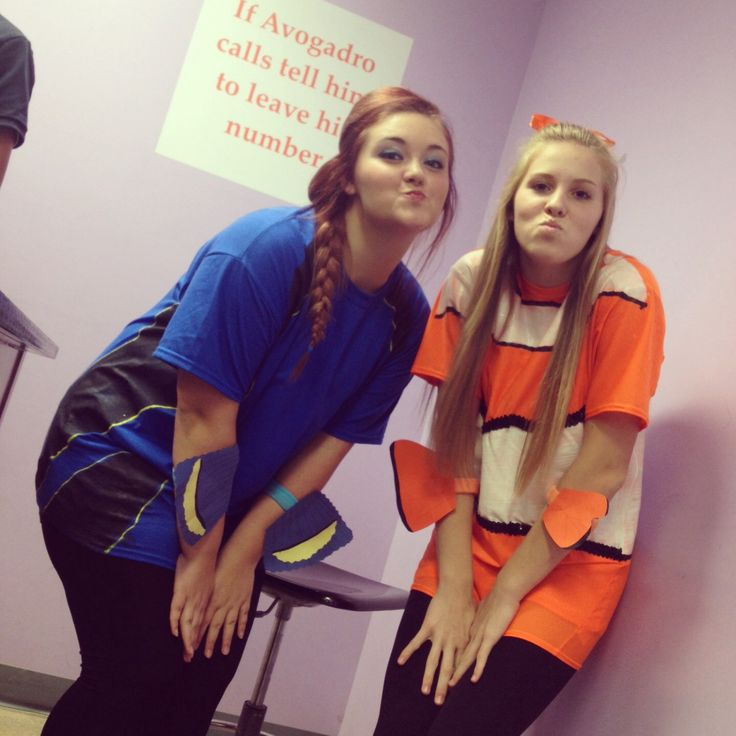 Dory and Nemo. Bestfriend costumes