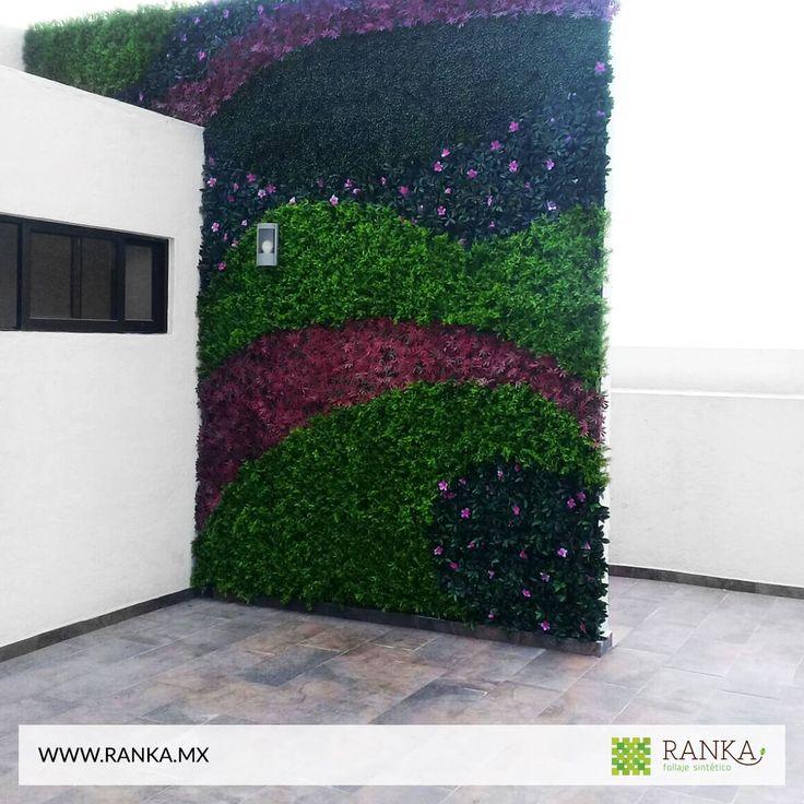 Las 25 mejores ideas sobre jardin vertical artificial en for Follaje para jardin