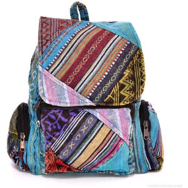 Patch Me If You Can Backpack on Sale for $24.99 at The Hippie Shop (740 TWD) ❤ liked on Polyvore featuring bags, backpacks, print backpacks, hippie backpacks, patch backpack, lightweight rucksack and patchwork backpack