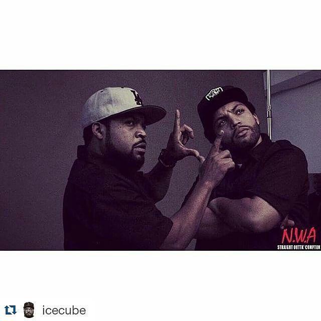 #Repost @icecube ・・・ #IceCube 2.0 @oshea_jackson_jr #StraightOuttaCompton #NWA #Socialbilitty #SNRTG #SmartNews #HipHopBusiness