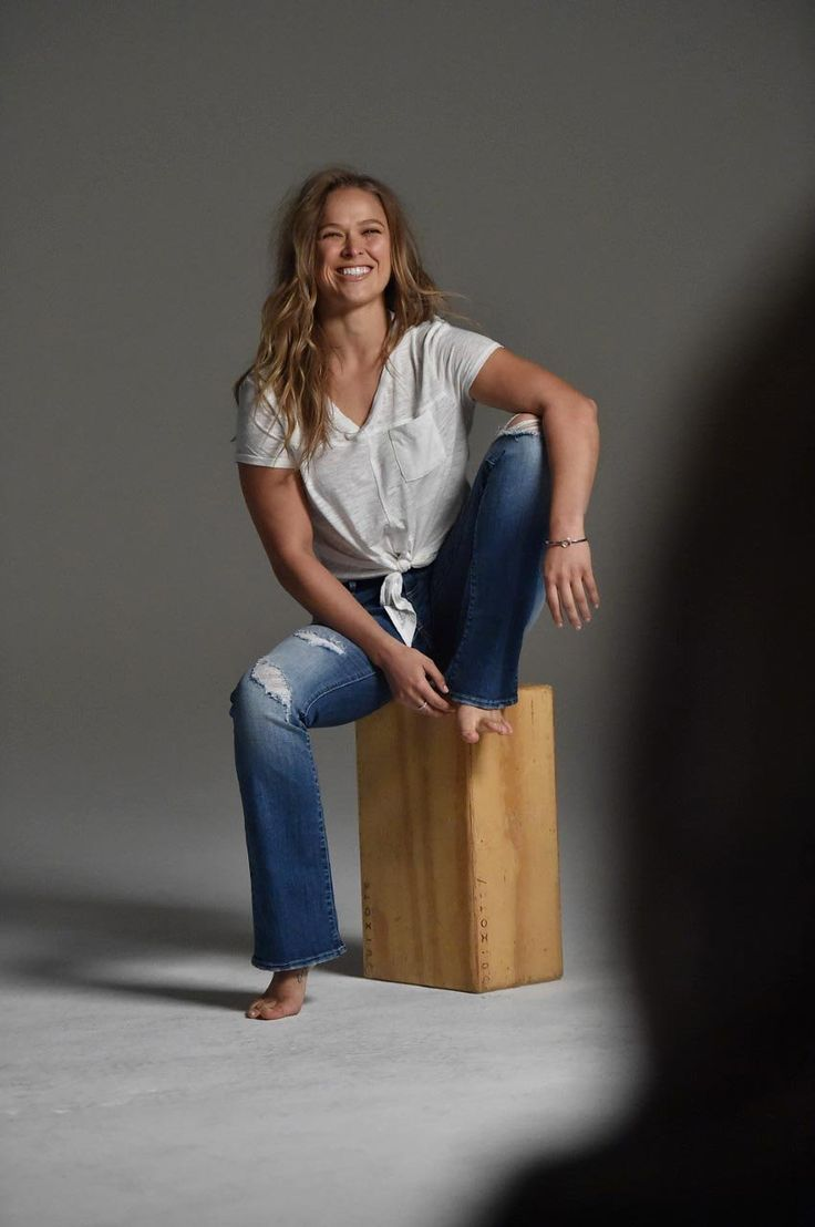What's a Fashionable Athlete to Wear? UFC Fighter Ronda Rousey Teams Up With Buffalo Jeans