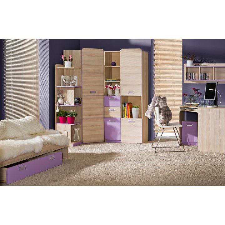 Dětský pokoj EGO - fialová | Nábytek ATAN