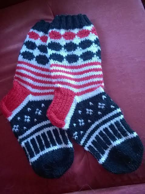Marimekko-socks