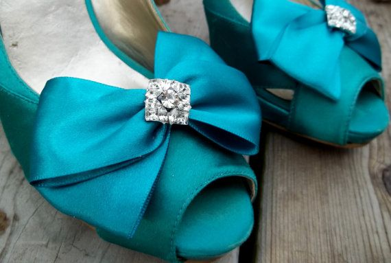 Hey, I found this really awesome Etsy listing at https://www.etsy.com/listing/122304189/satin-bridal-shoe-clips-many-colors