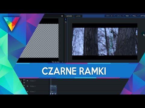 #22 HitFilm 3 Express - Czarne Ramki / Paski (16:9)   Poradnik ▪ Tutorial - YouTube