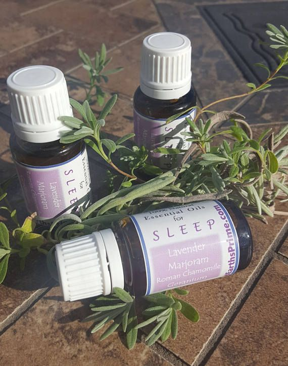 Essential Oils For Sleep lavender, marjoram, roman chamomile, geranium 100% pure essential oils blended for sleep, calming, ease stress