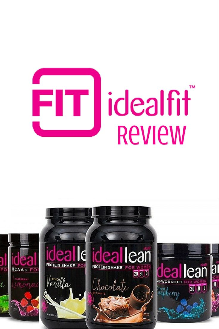 IdealFit Review- A comprehensive review of IdealFit and their IdealLean fitness line for women! #idealfit #ideallean