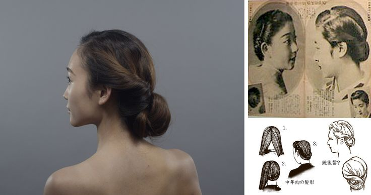 100 Years of Beauty - Japan #1940s #hair #style #fashion #makeup