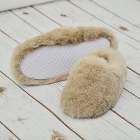 Treacle Sheepskin Mule Slippers