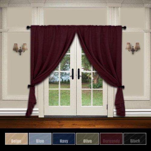 Fashionable Curtains On Windows  Usa