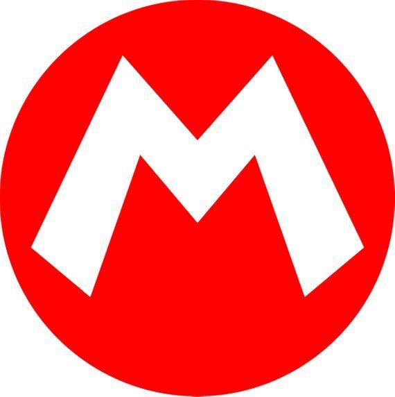 Super Mario Svg Super Mario Stencil Supermario Logo Head Hat Digital Clipart For D Super Mario Hat Super Mario Bros Birthday Party Super Mario Bros Party