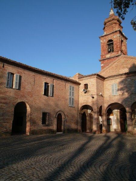 Sanctuary of Beato Sante (Mombaroccio), Le Marche, Italy