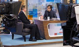 Robert Peston interviews David Cameron on his ITV Sunday politics show http://www.theguardian.com/media/2016/may/29/itv-robert-peston-bbc-andrew-marr-sunday-politics