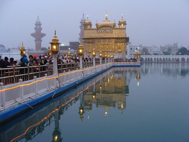 Golden Temple , Punjab - It is so beautiful  and it is made of Gold.